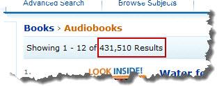 Audio Books On Amazon